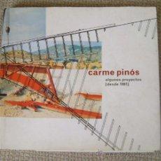 Libros de segunda mano: CARME PINÓS. ALGUNOS PROYECTOS (DESDE 1991). Lote 40885834