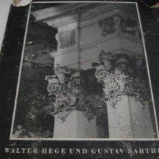 Libros de segunda mano: LIBRO ARQUITECTURA Y ARTE ALEMÁN 1941. Lote 31285626