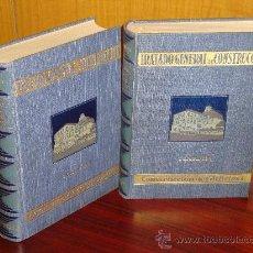 Libros de segunda mano: TRATADO GENERAL DE CONSTRUCCIÓN. CONSTRUCCION DE EDIFICIOS. 2TOMOS.- CARLOS ESSELBORN.1928. Lote 31980341