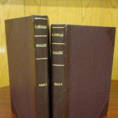 Libros de segunda mano: PROYECTOS PARA LA CONSTRUCCION DE EDIFICIOS-VILLA 1946 – 2 TOMOS – SERIES A Y B – 1ª EDICIÓN R. VEC. Lote 32079742