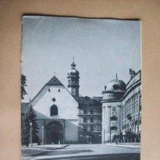 Libros de segunda mano: INNSBRUCK AUSTRIA - CASTILLO IMPERIAL, CAPILLA PLATEADA E IGLESIA DE LA CORTE . Lote 32444849