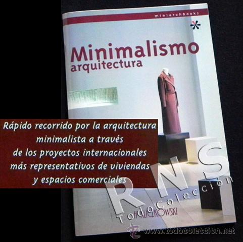 Minimalismo arquitectura h kliczkowski muy comprar for Minimalismo libro