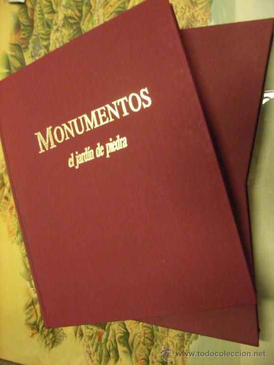 LIBRO -MONUMENTOS.EL JARDÍN DE PIEDRA. BBV.1988 (Libros de Segunda Mano - Bellas artes, ocio y coleccionismo - Arquitectura)