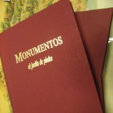 Libros de segunda mano: LIBRO -MONUMENTOS.EL JARDÍN DE PIEDRA. BBV.1988. Lote 32792920