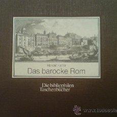 Libros de segunda mano: LIBRO ILUSTRADO SOBRE LA ROMA BARROCA. ARQUITECTURA URBANISMO. Lote 32899909
