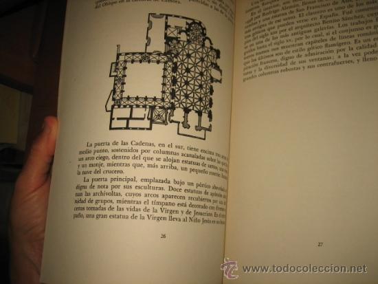 Libros de segunda mano: LAS CATEDRALES DE ESPAÑA TOMO III GEORGES PILLEMENT EDITORIAL GUSTAVO GILI 1953 - Foto 8 - 32915487