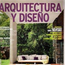 Libros de segunda mano: ARQUITECTURA Y DISEÑO - NÚMERO 118 - 2010. Lote 33406452