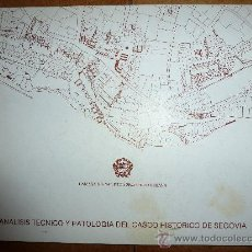 Livros em segunda mão: ANALISIS TECNICO Y PATOLOGIA DEL CASCO HISTORICO DE SEGOVIA.CAMARA OFICIAL DE LA PROPIEDAD URBANA. Lote 33466934