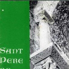 Libros de segunda mano: JOSEP Mª Y LLUÍS BENEJAM, SANT PERE DE RODES, FIGUERAS (GERONA) , 1979 (2ª ED. CORREGIDA).. Lote 33557808