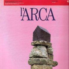 Libros de segunda mano: REVISTA L'ARCA - Nº42 - OCTUBRE 1990. Lote 33807259
