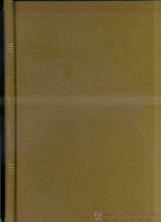 Libros de segunda mano: FAULÍ : ARQUITECTURA DE BARCELONA (1974) - Foto 2 - 33870483