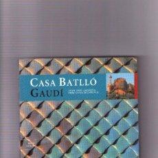 Libros de segunda mano: CASA BATLLO GAUDI. Lote 34203119