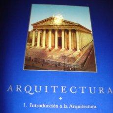 Libros de segunda mano: EL GRAN ARTE EN LA ARQUITECTURA, INTRODUCCIÓN A LA ARQUITECTURA 1, SALVAT, BARCELONA 1992, 27X37CM. Lote 34301685