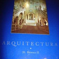 Libros de segunda mano: EL GRAN ARTE EN LA ARQUITECTURA, 20. BARROCO II, SALVAT, BARCELONA 1992, 27X37CM. Lote 34301791