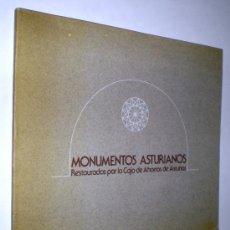 Libros de segunda mano: MAGIN BERENGUER ALONSO: MONUMENTOS ASTURIANOS RESTAURADOS POR LA CAJA DE AHORROS DE ASTURIAS.. Lote 34524564