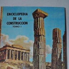 Libros de segunda mano: ENCICLOPEDIA DE LA CONSTRUCCIÓN. CUATRO TOMOS. JOAQUÍN DEL SOTO HIDALGO RM60715-V. Lote 35204900