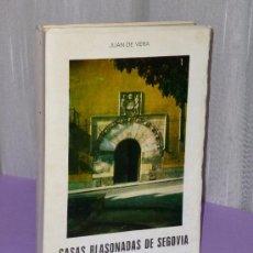 Libros de segunda mano: CASAS BLASONADAS DE SEGOVIA.. Lote 35405092