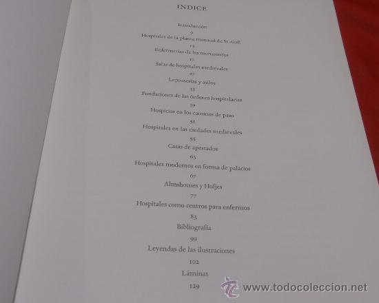 Libros de segunda mano: EDIFICIOS HOSPITALARIOS EN EUROPA DURANTE DIEZ SIGLOS - Foto 5 - 35603479