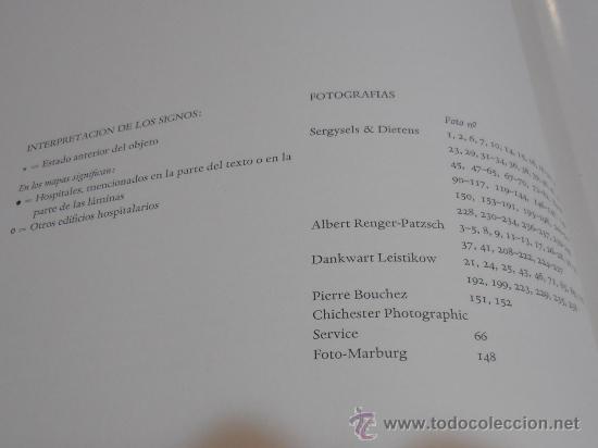 Libros de segunda mano: EDIFICIOS HOSPITALARIOS EN EUROPA DURANTE DIEZ SIGLOS - Foto 12 - 35603479