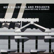 Libros de segunda mano: NEW BUILDINGS AND PROJECTS: ARCHITECTURE IN GERMANY - SELECCION DE LOS MEJORES EDIFICIOS Y PROYECTOS. Lote 35646532