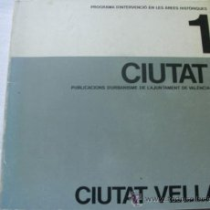 Libros de segunda mano: CIUTAT VELLA. 1983. Lote 35765125