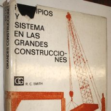 Libros de segunda mano: PRINCIPIOS Y SISTEMA EN LAS GRANDES CONSTRUCCIONES - RONALD SMITH - GRAN TAMAÑO Y MUY ILUSTRADO *. Lote 36352482