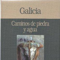 Libros de segunda mano: 4726- GALICIA- CAMINOS DE PIEDRA Y AGUA-. Lote 36659119