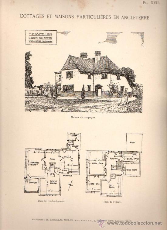 Cottages anglais recueills et mis en ordre par comprar - Cottage anglais connecticut blansfield ...