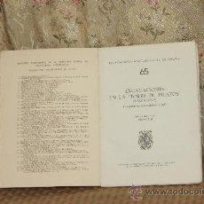 Libros de segunda mano: 3171- EXCAVACIONES ENLA TORRE DE PILATOS. ALBERTO BALIL. EDIT. MIN. DE ED. Y CIEN. MADRID. 1969. . Lote 37230566