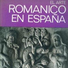 Libros de segunda mano: 2209 EL ARTE ROMANICO EN ESPAÑA MARCEL DURLIAT EDITORIAL JUVENTUD. Lote 37317915