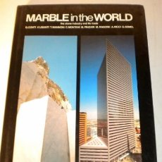 Libros de segunda mano: MARBLE IN THE WORLD - PRINTED IN ITALY - 1986 - (EN INGLÉS). Lote 37601326