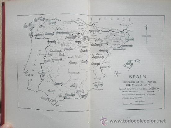 Libros de segunda mano: Harvey, J.: The Cathedrals of Spain (1957) - Foto 4 - 37747305