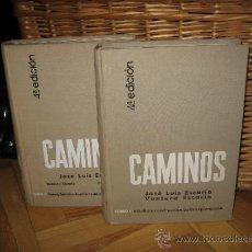 Libros de segunda mano: CAMINOS. 2 VOL. CONSTRUCCIÓN DE LA EXPLANACIÓN / FIRMES, EXPLOTACIÓN. (INGENIERÍA). Lote 38625555