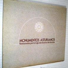 Libros de segunda mano: MAGIN BERENGUER ALONSO: MONUMENTOS ASTURIANOS RESTAURADOS POR LA CAJA DE AHORROS DE ASTURIAS.. Lote 38765075