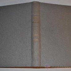 Libros de segunda mano: INFORMES DE LA CONSTRUCCIÓN. REVISTA DE INFORMACIÓN TÉCNICA. AÑO 1971. PROYECTOS INTERNAC. RM63172. Lote 39221834