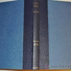 Libros de segunda mano: INFORMES DE LA CONSTRUCCIÓN. REVISTA DE INFORMACIÓN TÉCNICA. AÑO 1975.. RM63179. Lote 39222529