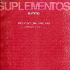 Libros de segunda mano: ARQUITECTURA BANCARIA. Lote 39575623