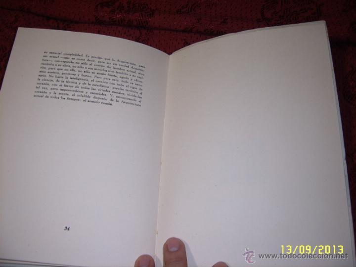 Libros de segunda mano: ACTUALIDAD Y ARQUITECTURA.PEDRO BENAVENT DE BARBERÁ.1956.EXTRAORDINARIO EJEMPLAR. - Foto 6 - 39927236