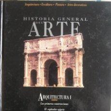 Libros de segunda mano: HISTORIA GENERAL DEL ARTE: ARQUITECTURA (I). EDICIONES DEL PRADO 1994. Lote 40066434