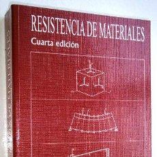Libros de segunda mano: RESISTENCIA DE MATERIALES POR MANUEL VÁZQUEZ DE ED. NOELA EN MADRID 1999. Lote 40398707
