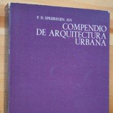 Libros de segunda mano: COMPENDIO DE ARQUITECTURA URBANA -SPREIREGEN.- GUSTAVO GILI - ILUSTRADO. Lote 40803452