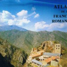 Libros de segunda mano: ATLAS DE LA FRANCE ROMANE - PAULINE DE LA MALÈNE - 1995 - FRANCÉS - 335 PAG. Lote 40859182