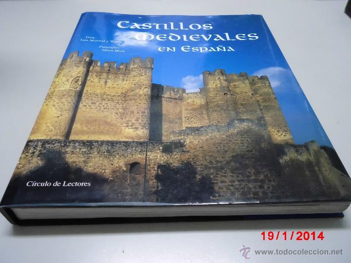 CASTILLOS MEDIEVALES EN ESPAÑA.LUIS MONREAL TEJADA (Libros de Segunda Mano - Bellas artes, ocio y coleccionismo - Arquitectura)