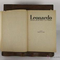Libros de segunda mano: D-159. LEONARDO. REVISTA DE LAS IDEAS Y LAS FORMAS. TRISTAN LA ROSA. TIP EMPORIUM. 1946. 3 EJEMP.. Lote 42052952