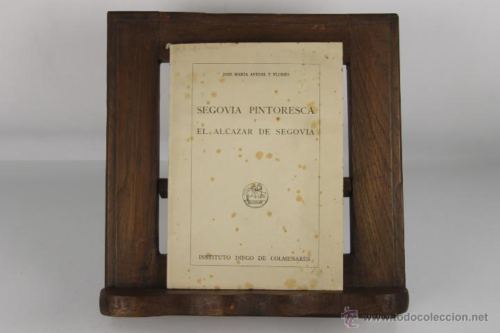 Libros de segunda mano: D-224. SEGOVIA PINTORESCA. JOSE MARIA AVRIAL. IMP. EL ADELANTO. 1953. - Foto 4 - 42219261