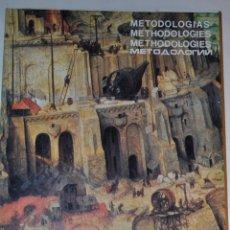 Libros de segunda mano: XII CONGRESO MUNDIAL DE LA UNIÓN INTERNACIONAL DE ARQUITECTOS. METODOLOGÍAS. RM65029. Lote 42225675