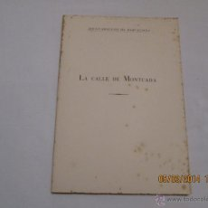 Libros de segunda mano: LA CALLE DE MONTCADA - ADOLFO FLORENSA FERRER - 1959. Lote 42435400