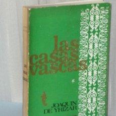 Libros de segunda mano: LAS CASAS VASCAS. TORRES, PALACIOS, CASERÍOS, CHALETS, MOBILIARIO.. Lote 42491886
