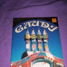 Libros de segunda mano: LIBROS ARTE ARQUITECTURA - LIBRO GAUDI HISTORIA Y CATALOGO DE OBRAS. Lote 42541600