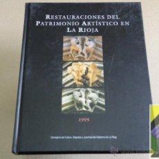 Libros de segunda mano - SANCHEZ OSTIATEGUI, Esther (Coord): Restauraciones del Patrimonio Artístico en La Rioja - 42549167
